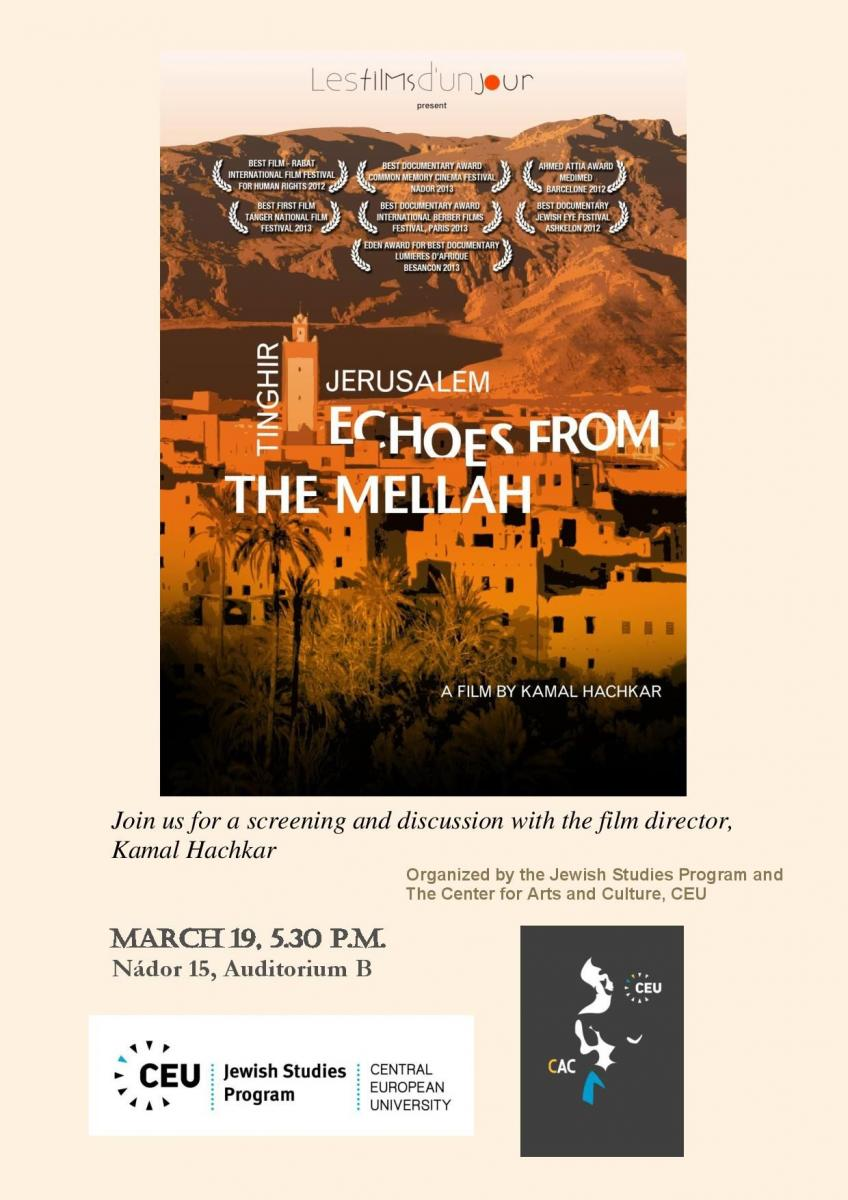 Film Screening Tinghir Jerusalem Echoes From The Mellah By